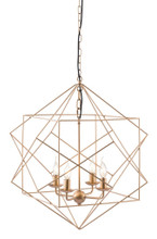 Penta Ceiling Lamp, Gold, Metal