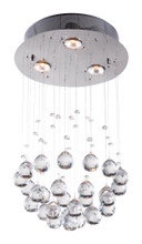 Pollow Ceiling Lamp, Clear, Metal