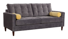 Savannah Sofa, Gold, Fabric