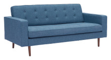 Puget Sofa, Blue, Fabric