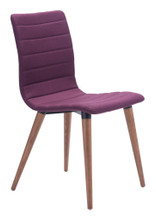 Jericho Dining Chair ( Set of 2 ), Purple, Fabric