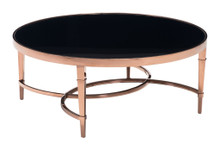 Elite Coffee Table, Gold, Glass