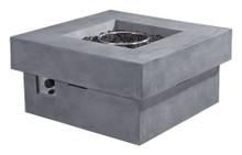 Diablo Propane Fire Pit, Gray, Stone