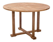 Regatta Dining Table, Brown, Wood