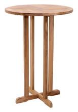 Trimaran Bar Table, Brown, Wood