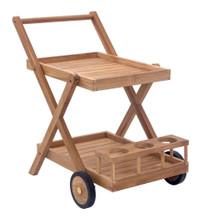 Regatta Trolley, Brown, Wood