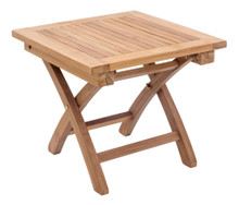 Starboard Side Table, Brown, Wood