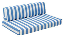 Bilander Sofa Cushions, Blue, Fabric