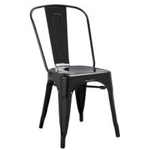 Talix Chair, Black, Metal