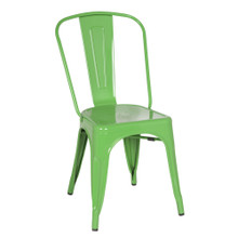 Talix Chair, Green, Metal