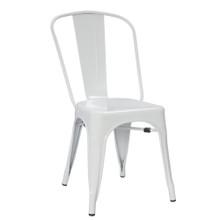 Talix Chair, White, Metal