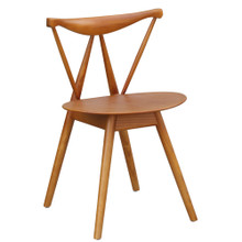 Fronter Dining Chair, Walnut, Wood