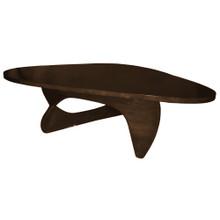 Rare Coffee Table, Dark Walnut, Wood