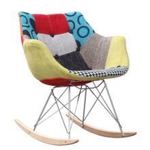 Ginger Rocker Arm Chair, Plastic
