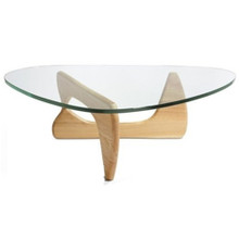 Tribeca Coffee Table, Natural, Glass