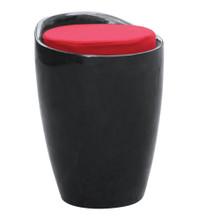 Schnapps Stool, Black, Plastic