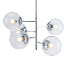 Somerest Ceiling Lamp Chrome, Metal