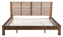 Linea King Bed, Wood