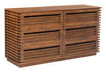 Linea Double Dresser, Wood