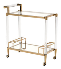 Existential Bar Cart, Metal