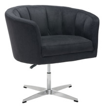 Wilshire Occasional Chair Black, Fabric