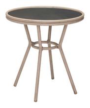 Mareilles Bistro Table Dark Brown, Wood
