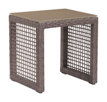 Coronado End Table Cocoa, Rattan