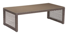Coronado Coffee Table Cocoa, Rattan