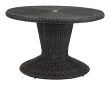 Noe Dining Table Brown, Rattan