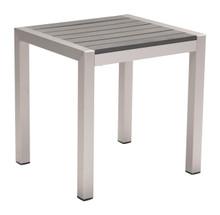Cosmopolitan Side Table B. Aluminum, Metal