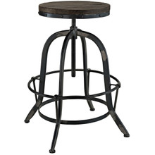 Gather Five PCS Dining Set , Black, Metal 9638