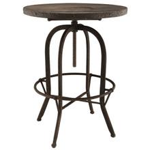Gather Five PCS Dining Set, Brown, Metal 9641