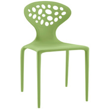 Animate Dining Chair, Green, Plastic 9643