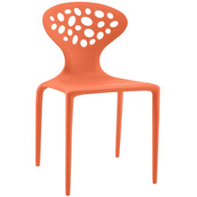 Animate Dining Chair, Orange, Plastic 9644