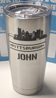 Pittsburgh mug in stainless