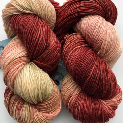 FA Cottage Sock Cinnamon -