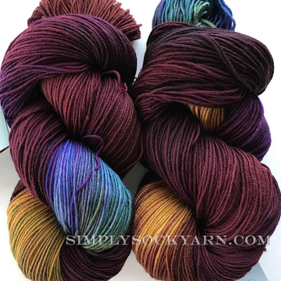 FA Cottage Sock Nightshade -