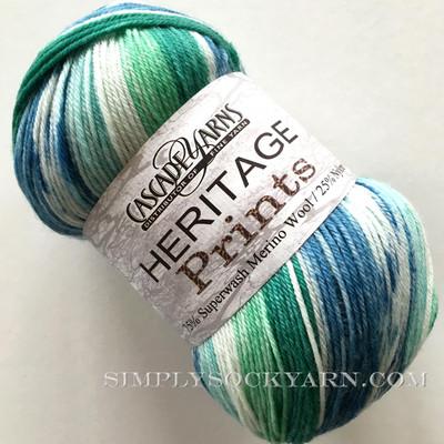 CY Heritage Prints 44 Blue Gr -