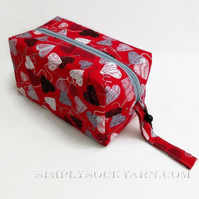 BL Bags SR Love Knitting Red -