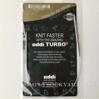 "Addi Turbo 12"" Circ US 6 -"