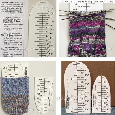 Sock Ruler Combo Pack -