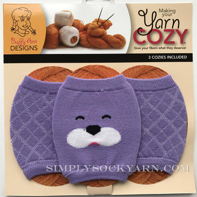 Yarn Cozy Purple Bear Argyle -