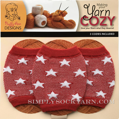 Yarn Cozy Red Stars -