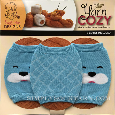 Yarn Cozy Blue Bear Argyle Mix -