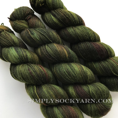 Qing Super Soft Sock Moss -