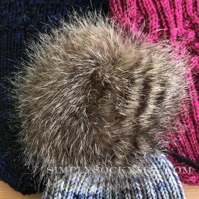 SSYC Pom Pom Raccoon - L -
