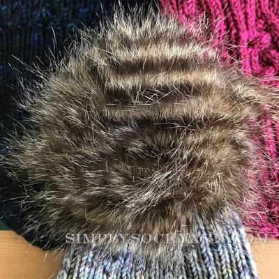 SSYC Pom Pom Raccoon - XL -