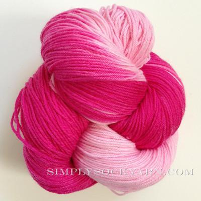 LL Sock Stripe Flamingo