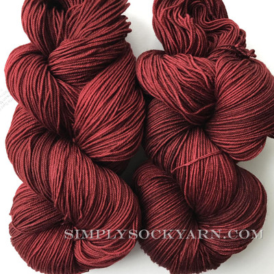 Malabrigo Sock 800 Tiziano Red -