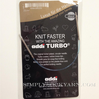 "Addi Turbo 8"" Circ US 3"